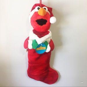 Sesame Street Muppets Elmo Christmas Stocking NWY